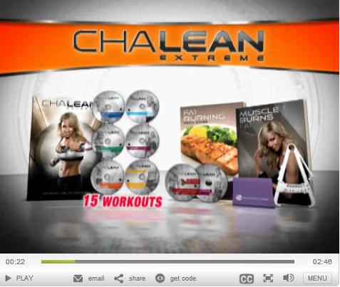 Chalene Extreme Challenge Pack
