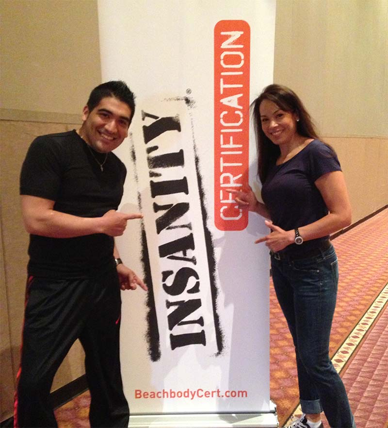 Insanity Workout Certified Trainer