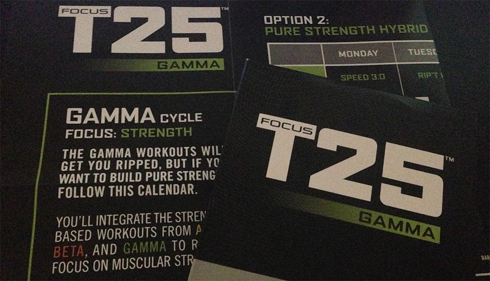 Focus T25 Gamma Workout